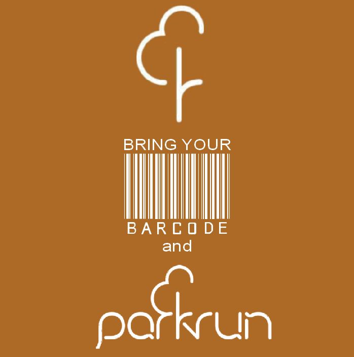 parkrun - Gotta have your barcode  https://www.musclesaurus.com