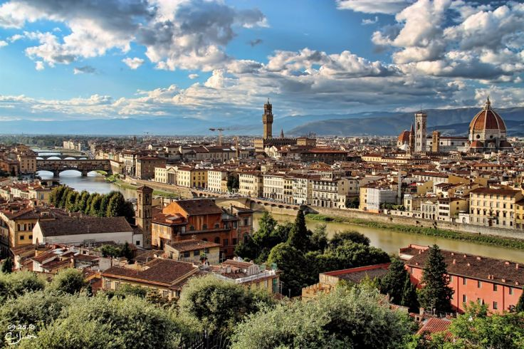 """""""Don't you agree that, on one's first visit to Florence, one must have a room with a view?"""""""