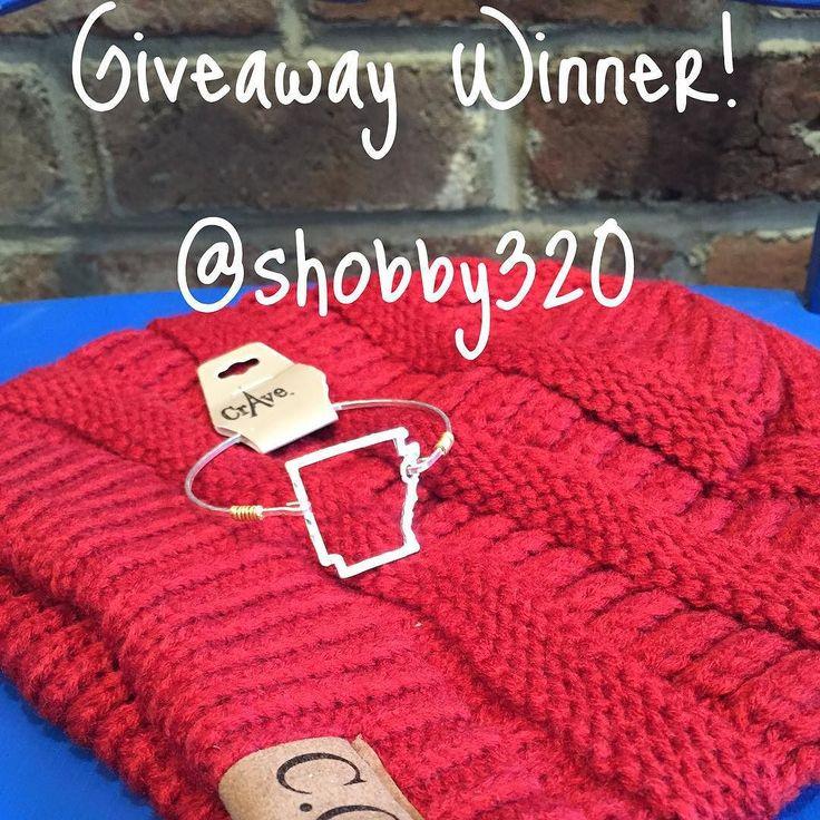 Winner Winner! Congratulations shobby320 Your gifts are