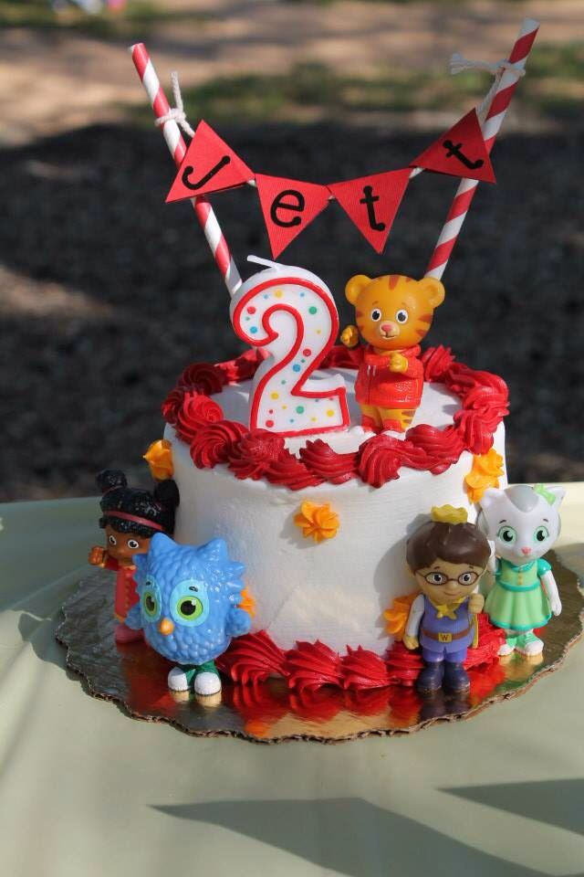 Daniel Tiger birthday cake!