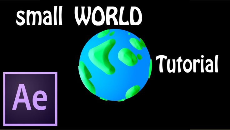 Small World Effect Tutorial | After Effects