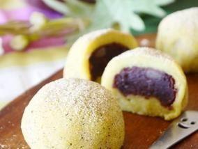 """今日は""""鏡開き"""" サツマイモと切り餅で作る『ねりくり饅頭』"""
