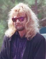 ~Known for his outlandish hats, Leon Wilkeson survived the plane crash in 1977 that killed band memebers Ronnie Van Zant, Steve Gaines and singer Cassie Gaines. Description from findagrave.com. I searched for this on bing.com/images