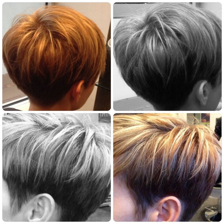 Love this short graduated pixie cut. The House of Hair...