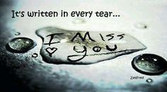 l miss you! ♡