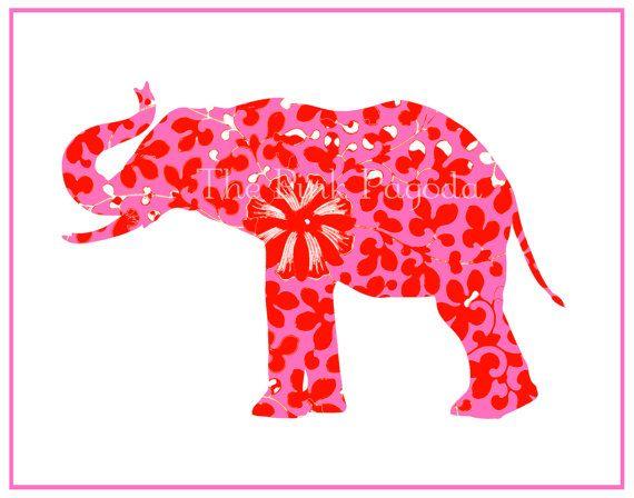 38 best Elephants: Illustrations (silhouette) images on Pinterest ...