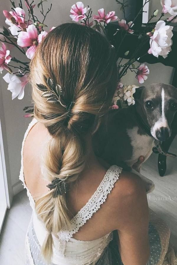 New Romantic Long Bridal Wedding Hairstyles Try
