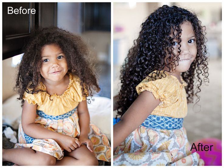 Mixed Hair Care: Tips for #biracial #hair care and a step-by-step guide to getting beautiful moisturized curls. Teach your daughters to love their natural hair. Natural hair care for kids. #naturalhairkids