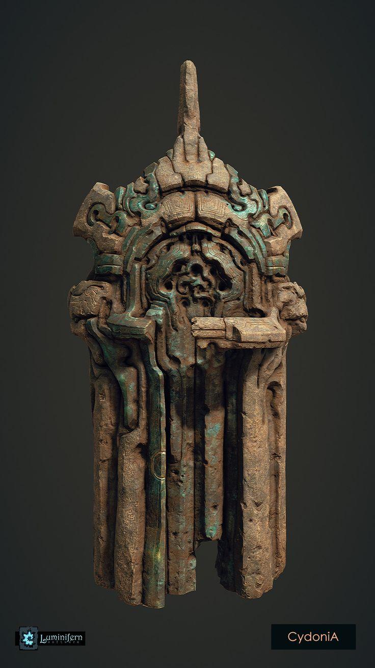 ArtStation - Tomb Door, Ivan Vavilov
