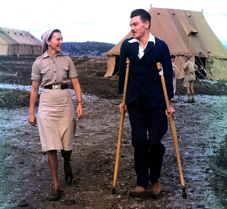 Nursing Sister Ruth Webster, North Africa, ca 1943.  (Library and Archives Canada Photo, MIKAN No. 4232810)