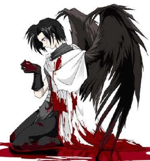 Anime Boy with Wings | anime guy w/ wings | ♣anime gore ...