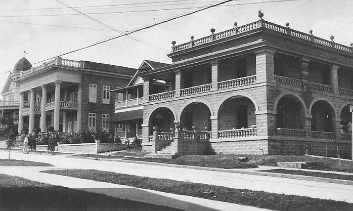 Edificio de la Clínica Miramar,año 1910,San Juan,Puerto Rico.