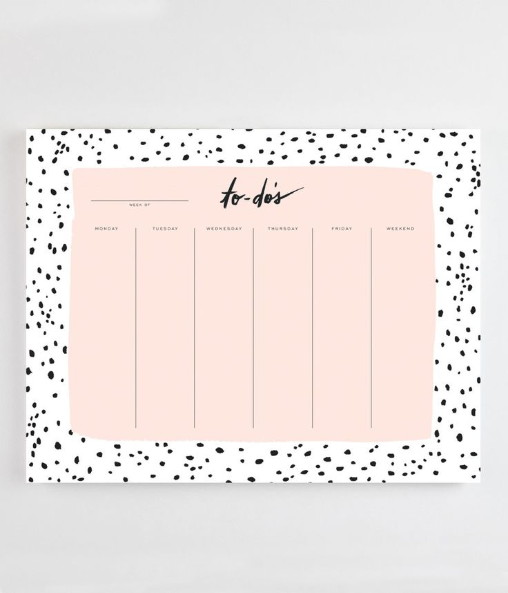 - 52 tear-off sheets - Perfectly to sit desk-side or function as a mousepad. - 9″ x 7″ Our desk pads are designed for the day-planners, note-takers, and appointment-makers who schedule in style. Each
