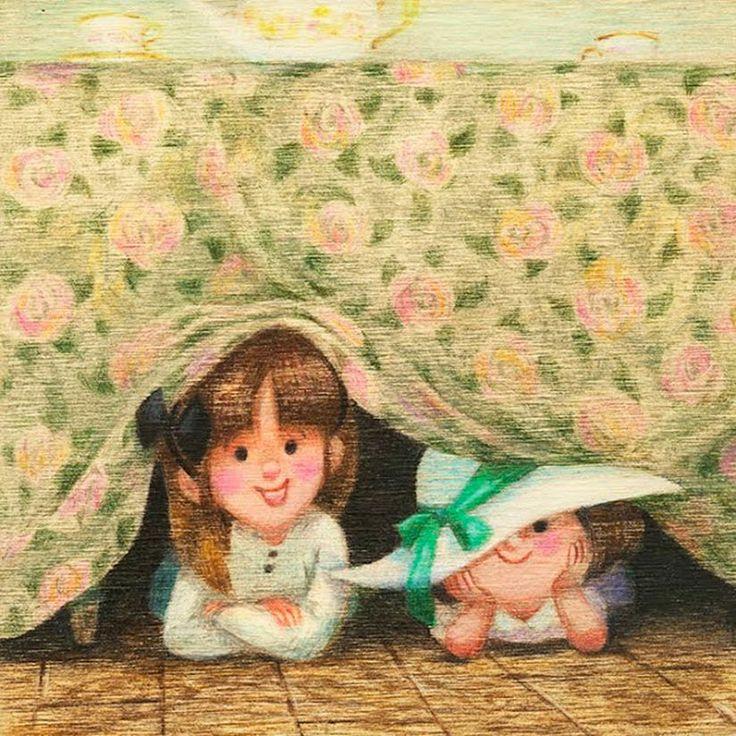 The illustrated works of Emmanuelle Walker | Never Underdressed