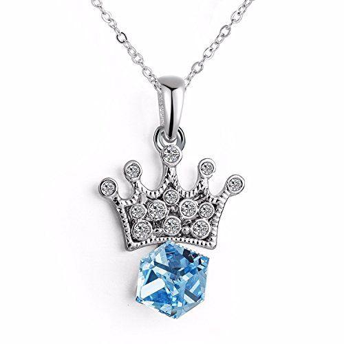 14MM Diamond White Genuine Swarovski Crystal Elements & Sterling Silver 20