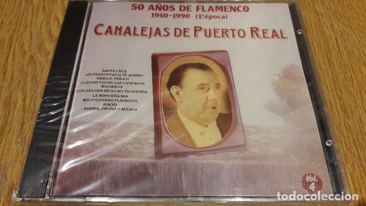 CANALEJAS DE PUERTO REAL / 50 AÑOS DE FLAMENCO 4 / CD / DIVUCSA-1991 /14 TEMAS / PRECINTADO.