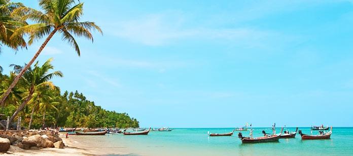 På Bangtao Beach i Phuket finns vackra stränder och ett av Vings mest familjevänliga hotell i hela Thailand- Sunwing Resort & Spa Bangtao Beach.