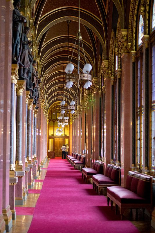 Inside the Stunning Hungarian Parliament Building in #Budapest