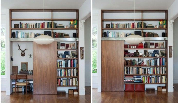 Clever Storage Solutions To Hide Papers In Living Room