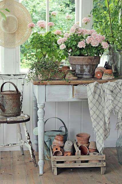 Lovely planting room.  Vibeke Design