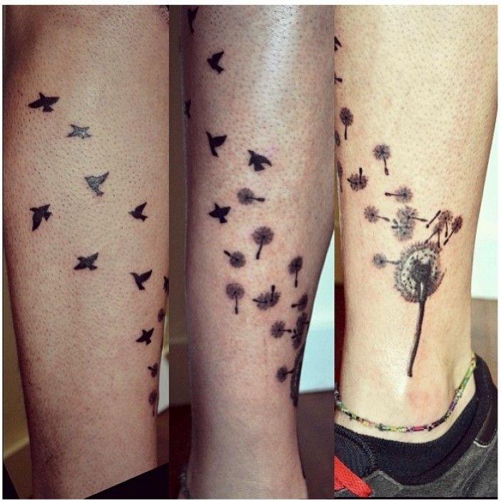silhouette tattoo | Bird Silhouette Tattoos – Designs and Ideas