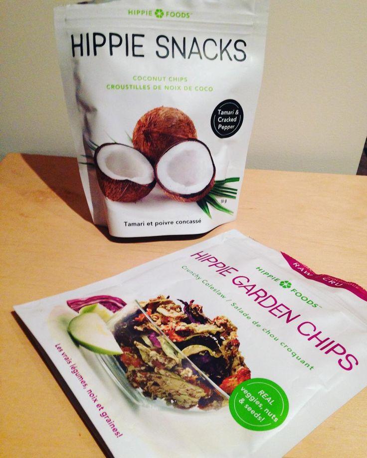 """""""Loving my Hippe Garden chips so much I went out and bought an additional bag! Thanks @socialnature @hippiefoodsorganic #trynatural #shoplocal #gardenchips"""""""