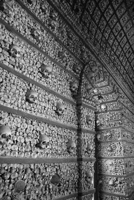 Sedlec ossuary, Kutna Hora, Czech Republic. The bone church.