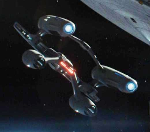 Newton Class Starfleet cruiser.