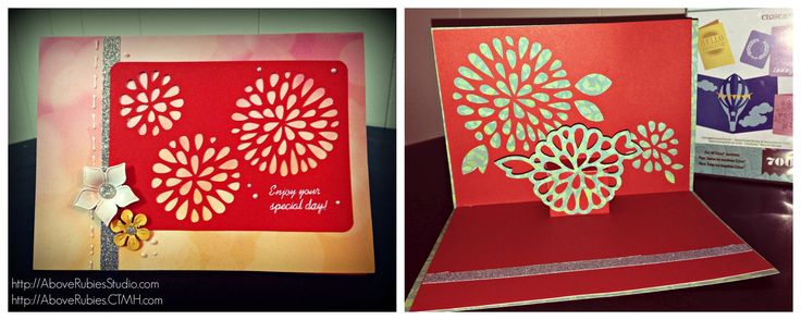How to Make Pop Up Cards and Measure for Artfully Sent Cricut Cartridge - |