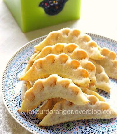 Gâteaux pour l'aid : Corne de gazelle ou Kaab rzale - Ma fleur d'oranger