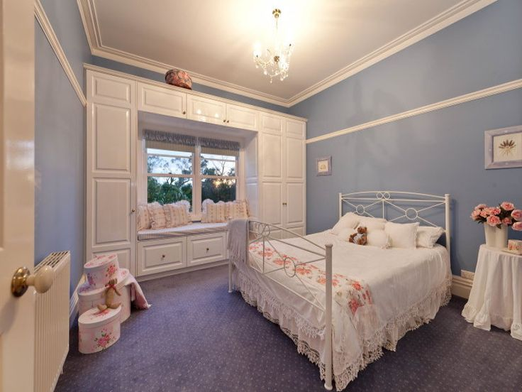 1000 Images About Children S Bedroom Ideas On Pinterest: Wardrobe Space Around A Window Creating A Window Seat. I