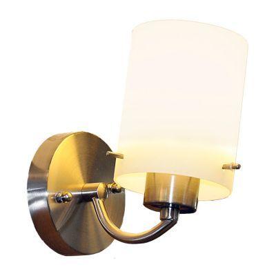 Lámpara pared 1 luz satín niquelada, Ikelite Design|Lámparas de pared|homecenter.com.co