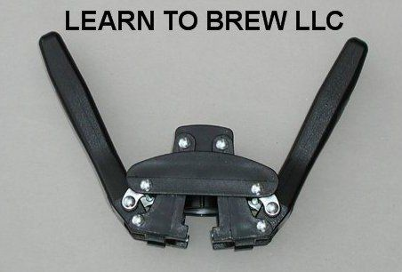Beer Bottle Capper by Learn To Brew LLC. $16.25. This bottle capper has a double lever with magnet to hold caps to easily help you cap your beer bottles.  Be sure to see the other products sold by Learn To Brew LLC.