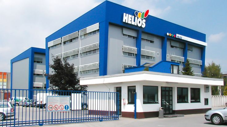 Helios Headquarters Building is probably the most recognisable building we have ever done. It was built back in 2003 and it still looks modern.
