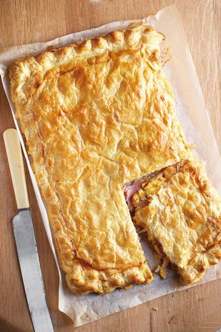 Ham-mosterd-en-kaas-tert   SARIE   Ham, mustard and cheese tart