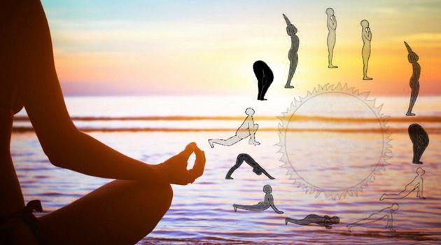Naučte se jógový Pozdrav slunci