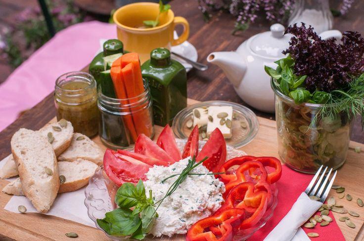 #plenty #plate #garden #breakfast #tasty #healthy #food #morning