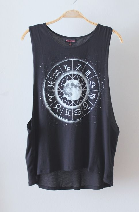 Zodiac Tank (MORE COLORS) from Love Junkee
