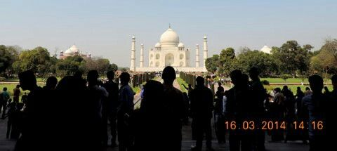 Symbol of love Taj Mahal