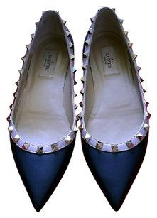 Valentino Dark navy blue Flats