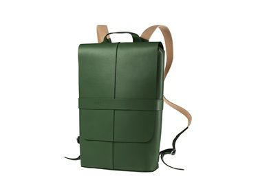 PICCADILLY Leather Knapsack - the video shows a black version, but this green is lovely. If they ever do a dark teal, consider my money forked over forthwith.