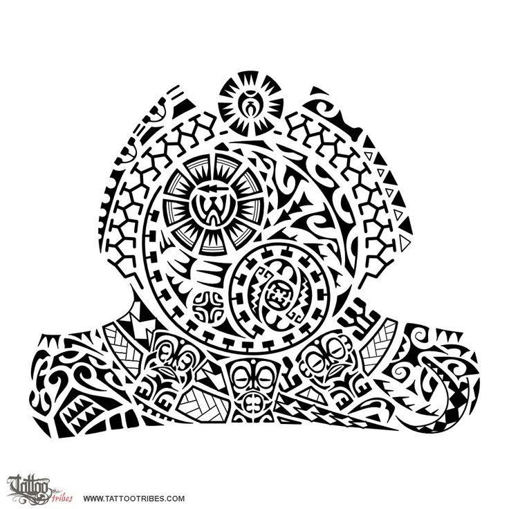 Rick-yin-yang-3-tikis-tattoo.jpg (1000×1000)