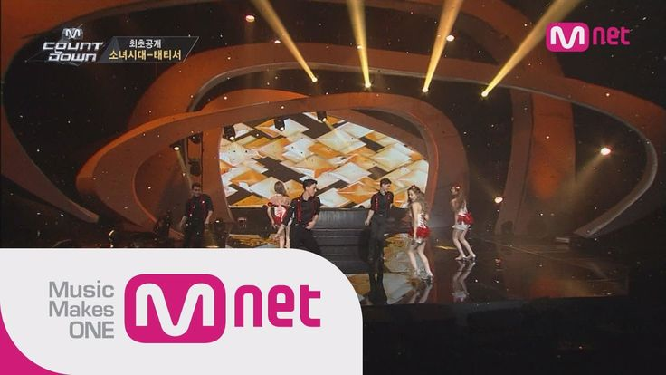 Mnet [M COUNTDOWN] Ep.394 : 태티서(Girl's Generation-TTS) - Adrenaline+Intr...