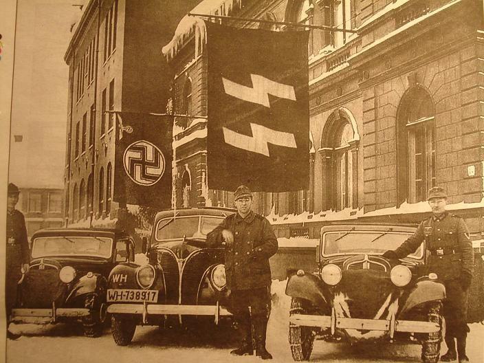 Tyske tropper i Tromsø