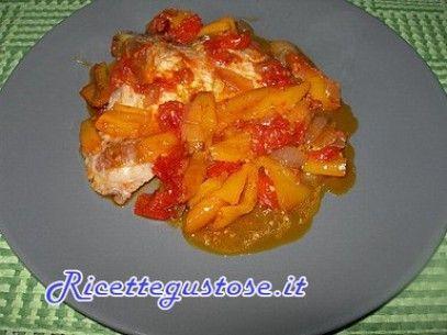 Pork Chops sauté in a Sweet and Sour Pepper sauce