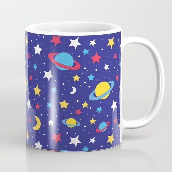 Space MilkywaY Galaxy Pattern Mug