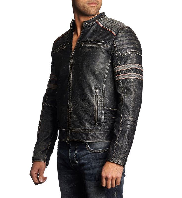 Fast Lane - Affliction Clothing - Mens Jackets - 4