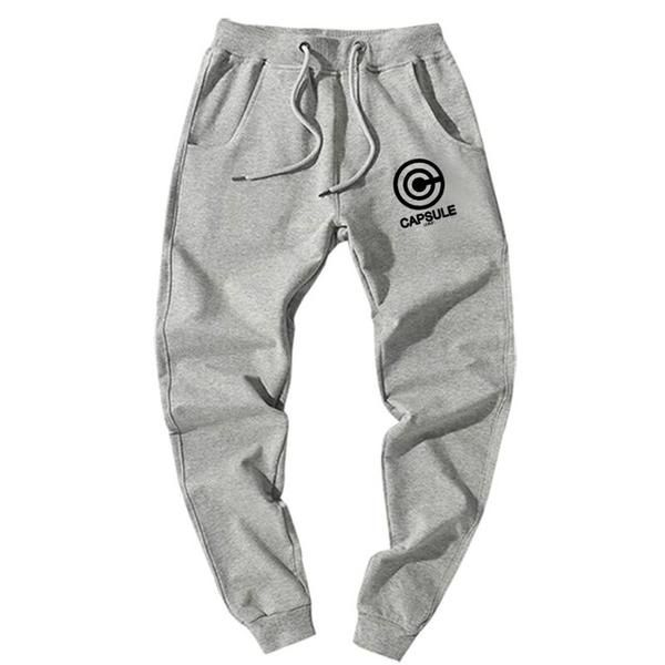 f609a4b0d59 Capsule Corp Grey Cotton Pants