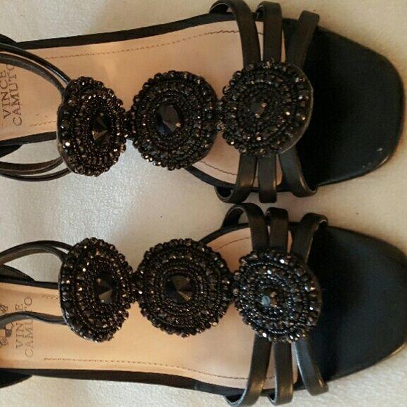 VINCENT CAMUTO wedge sandals Gorgeous ladies wedge sandals, like new, very stylish Vince Camuto Shoes Wedges
