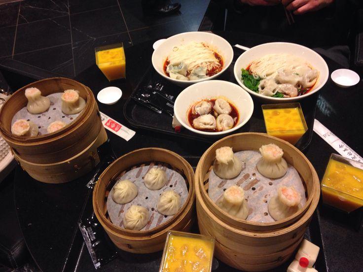 DIN TAN FUNG Dumplings - WestField Tour